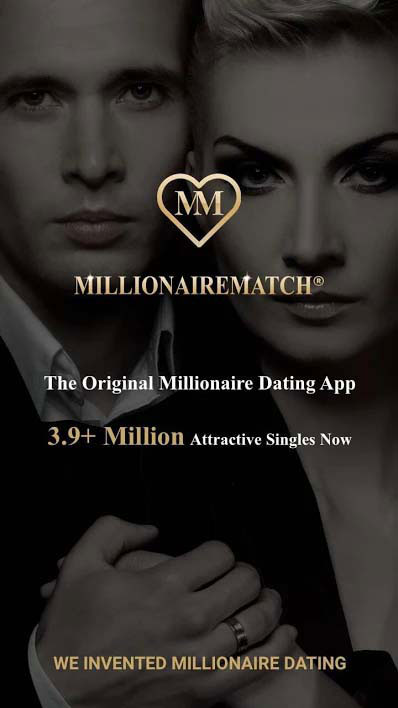 millionaire dating site